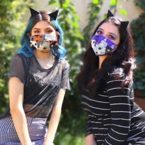 Halloween Costume Face Masks