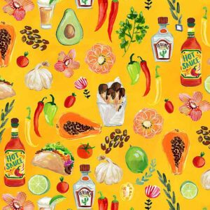 Food Inspired Fabric